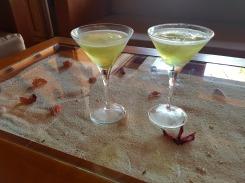 Cocktails d'arrivée